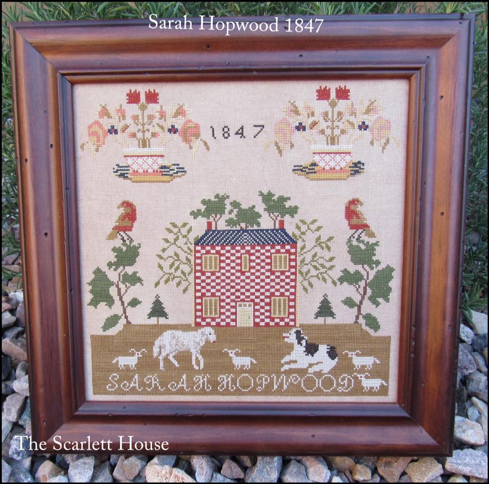 The Scarlett House 2018 Releases Palomino Handbag Black Sarah Hopwood 1847 Retail Price For Chart Your Choice Of Linens And Threads 14700 Special Package 12500